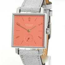 NOMOS Tetra neu Handaufzug Uhr mit Original-Box und Original-Papieren 498