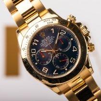 Rolex 116528 Or jaune 2007 Daytona 40mm occasion