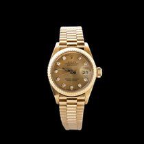 Rolex Lady-Datejust 6917 Very good Yellow gold 26mm Automatic New Zealand