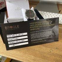 Tissot PRC 200 gebraucht 44mm Schwarz Chronograph Datum Tachymeter Kautschuk