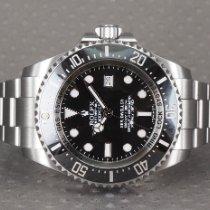 Rolex Sea-Dweller Deepsea Stål 44mm Sort Ingen tal Danmark, Hellerup