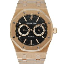Audemars Piguet Royal Oak Day-Date Rose gold 39mm Black United States of America, New York, New York
