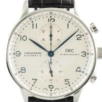 IWC Portuguese Chronograph Acero 41mm Plata