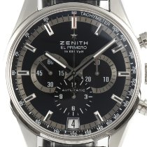 Zenith Steel 42mm Automatic 03.2040.400 pre-owned