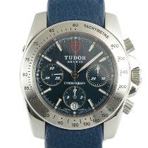 Tudor Sport Chronograph Steel 41mm Blue