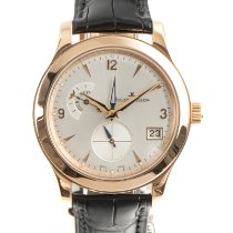 Jaeger-LeCoultre Master Hometime Red gold 40mm Silver
