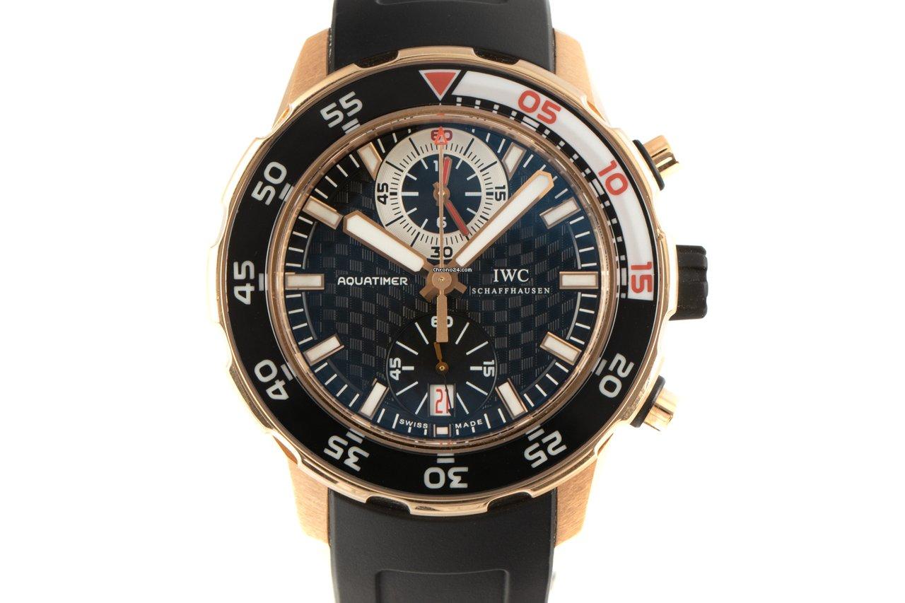IWC Aquatimer Chronograph 3769 2013 pre-owned