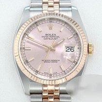 Rolex 116231 Guld/Stål 2009 Datejust 36mm brugt