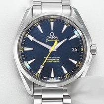 Omega Seamaster Aqua Terra Stål 41mm Blå