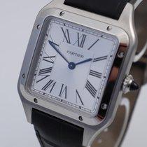 Cartier Santos Dumont gebraucht Leder