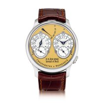 F.P.Journe Steel 38mm Manual winding Chronometre à Resonance United States of America, New York, New York