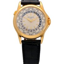 Patek Philippe 5110J-001 Yellow gold 2004 World Time 37mm pre-owned