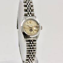 Rolex 69160 Acier 1987 Oyster Perpetual Lady Date 26mm occasion