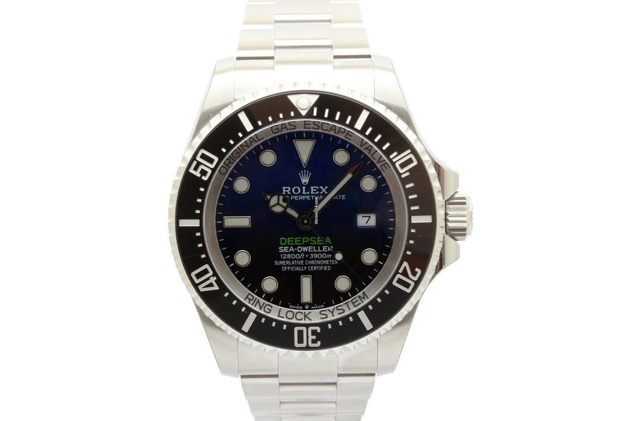 Rolex Sea-Dweller Deepsea 126660 D-BLUE 2021 new