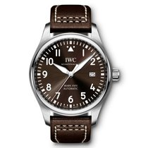IWC Pilot Mark Steel 40mm Arabic numerals United States of America, New York, New York
