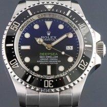 Rolex Sea-Dweller Deepsea Steel 44mm Blue No numerals