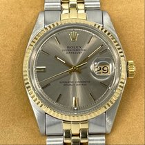 Rolex Bronze Automatic Champagne No numerals 36mm pre-owned Datejust