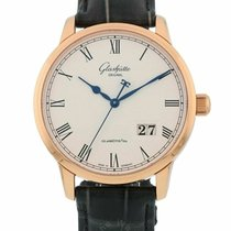 Glashütte Original Senator Panorama Date new Automatic Watch with original box 100-03-32-45-04
