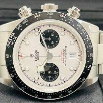 Tudor Black Bay Chrono Acier 41mm Blanc