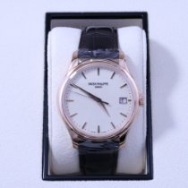 Patek Philippe Calatrava Rose gold 39mm White No numerals United States of America, California, Los Angeles