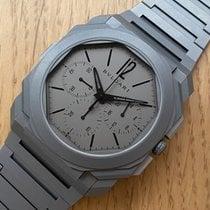 Bulgari Octo Titanium 42mm Grey Arabic numerals