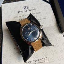 Seiko Grand Seiko Acier 39mm Bleu Sans chiffres France, paris
