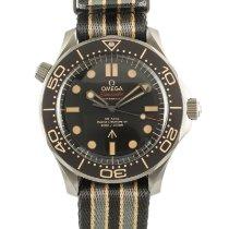 Omega Seamaster Diver 300 M Titanium 42mm Bruin