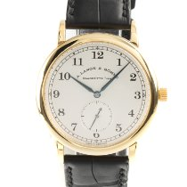 A. Lange & Söhne 1815 Yellow gold 36mm Silver