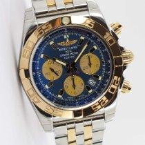 Breitling Chronomat 44 neu 2020 Automatik Chronograph Uhr mit Original-Papieren CB0110121C1C1