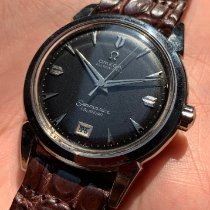 Omega pre-owned Automatic 34mm Black Not water resistant
