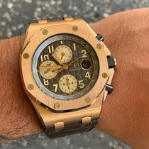 Audemars Piguet Royal Oak Offshore Chronograph Rose gold 42mm Grey Arabic numerals United States of America, Florida, Coconut Creek