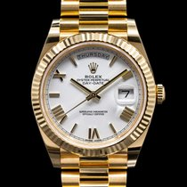 Rolex Day-Date 40 Yellow gold 40mm Roman numerals United States of America, Massachusetts, Boston