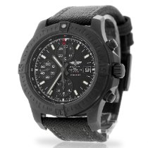 Breitling Colt Chronograph Steel 44mm Black No numerals