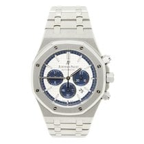Audemars Piguet Royal Oak Chronograph Steel 41mm Silver No numerals United States of America, California, Los Angeles
