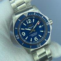 Breitling Superocean 44 Steel 44mm Blue Arabic numerals United States of America, Kentucky, Lexington