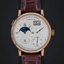 A. Lange & Söhne Grand Lange 1 Rose gold 41mm Silver Roman numerals United States of America, Florida, Sunny Isles Beach