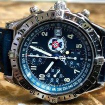 Breitling Chronomat GMT Steel 40.5mm Blue Arabic numerals United States of America, Pennsylvania, Philadelphia