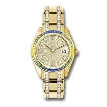 Rolex 86348SABLV Yellow gold 2019 Pearlmaster 39mm new