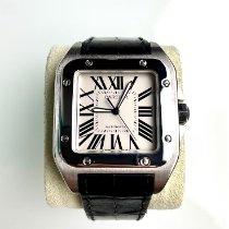 Cartier Santos 100 Steel 38mm White Roman numerals United States of America, Florida, Hallandale Beach