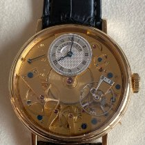 Breguet Tradition Yellow gold 38mm Silver Roman numerals United States of America, New York, New York