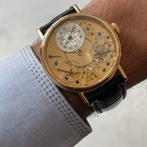 Breguet Tradition pre-owned 38mm Silver Crocodile skin