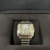 Cartier Santos (submodel) Steel 39.8mm Transparent Roman numerals United States of America, California, Chino