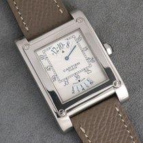 Cartier Tank (submodel) Hvidguld Sølv