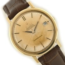 Omega Yellow gold Automatic Gold No numerals 36mm pre-owned Constellation