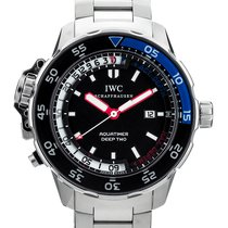 IWC Aquatimer Deep Two Acero 46mm Negro