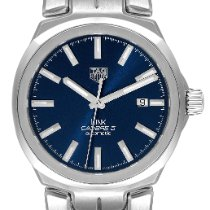 TAG Heuer Link Calibre 5 Steel 41mm Blue United States of America, Georgia, Atlanta