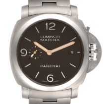 Panerai Luminor Marina 1950 3 Days Automatic Titanium 44mm Brown Arabic numerals United States of America, Georgia, Atlanta
