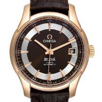 Omega De Ville Hour Vision Açık kırmızı altın 41mm Kahverengi