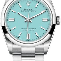 Rolex Oyster Perpetual 36 Steel 36mm Blue United States of America, New York, Airmont