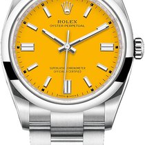 Rolex Oyster Perpetual 36 126000 Yellow Nenošené Ocel 36mm Automatika